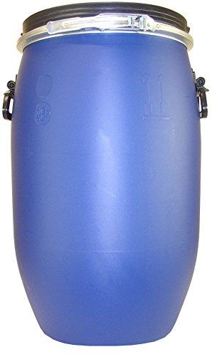 Belli 0914 7 Fût Ouverture Totale 60 L Bleu 40 x 66 cm