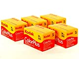 Kodak Colorplus 5パック 200asa 36exp フィルム