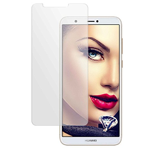 mtb more energy® Schutzglas für Huawei P smart/Enjoy 7S (5.65'') - Tempered Glass Bildschirm Schutzfolie Glasfolie