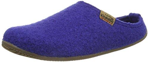 Living Kitzbühel Pantoffel Lederlogo, Damen Pantoffeln, Blau (564 spectrum blue), 37 EU (4 Damen UK)