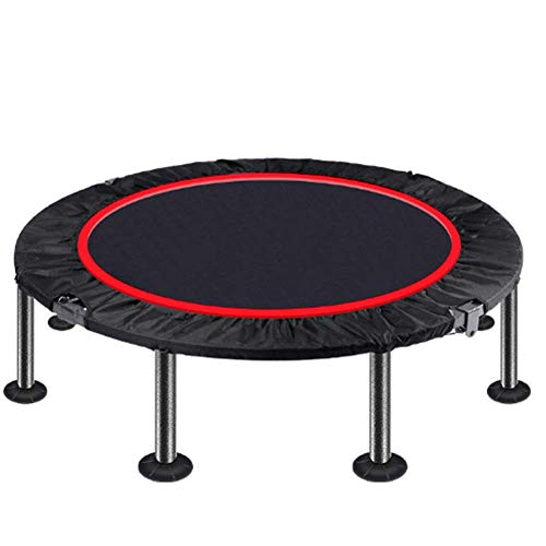 HSART High Spec Trampoline Spring Cover Foam Padding,Fitness Round Trampoline 40 Inch, With adjustable foam handle STrampoline Jump Indoor Outdoor Trampoline for Family School Entertainment,40inch