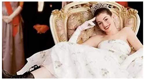 ZYHSB Él Princess Diaries Película Anne Hathaway Lienzo Póster E Impresión Arte De Pared Imagen Decoración del Hogar 18X12 Pulgadas Ql920Zj