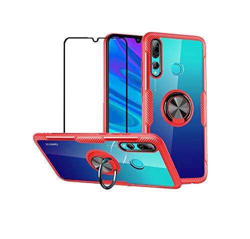 mvced Funda para Huawei P Smart + 2019/Enjoy 9S Case Cover Protector de Pantalla de Cristal Templado con…