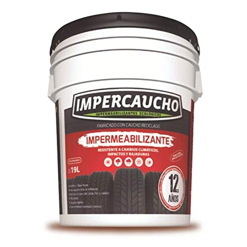 Impermeabilizante Impercaucho marca IMPERCAUCHO