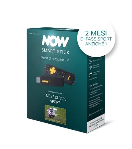 NOW Smart Stick con i primi 2 mesi di Sport incluso | Chiavetta streaming | TV