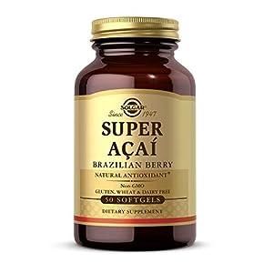 Solgar Super Acaí Extracto Cápsulas blandas - Envase de 50