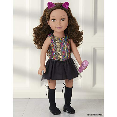 "Journey Girls 18"" Doll Fashion Set Sequin Pop-Star Dress - Amazon Exclusive"
