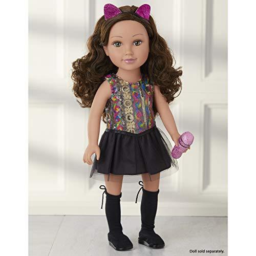 Journey Girls 18' Doll Fashion Set Sequin Pop-Star Dress (Amazon Exclusive Mailer)