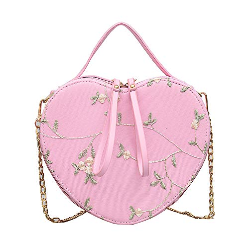 Zzylynk s mall bag wild Messenger chain lace shoulder portable girl small bag pink fashion ladies bolso especial