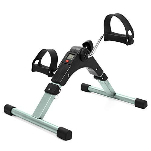 JIN GUI Mini Equipo de Ejercicios para piernas de Bicicleta estática, Paso a Paso de Ejercicios portátil, Mini Bicicleta de Ejercicio para Gimnasio en casa, máquina de Entrenamiento para piernas