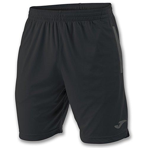 Joma Miami Bermuda Deporte de Tenis, Hombre, Negro, XL