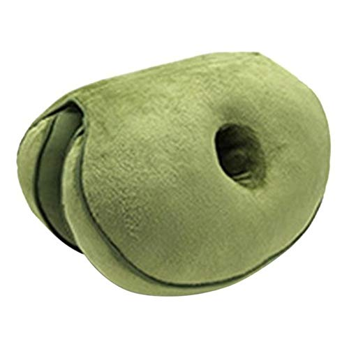 Floor Pillow Cover Cushion Cover Pouf Cover Decor Memory Foam Multifunctional Comfort Dual Seat Cushion Beautify Hip Lift Seat Cushion Butt Latex Comfy Seat Cushion for Home for Men/Women Living Room