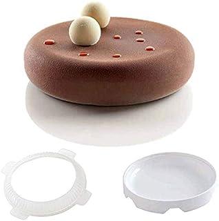 كيسو - قوالب كيك - قالب كيك سيليكون دائري لآيس كريم موس 3D كيك الخبز الملحقات المخبوزة أدوات تزيين الكيك الخبيز JCFMJ141