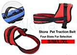 Skora Dog No Pull Reflective Adjustable Dog Harness with Handle, Soft Reflective Harness