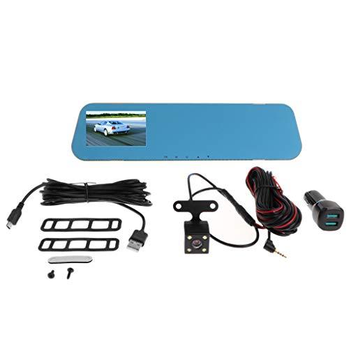 Haia7 K4 k V40 Véhicule Enregistreur Capteur Rétroviseur Camera vidéo Tableau de Bord Full