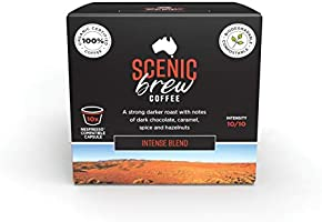 Scenic Brew, 6 packs of 10 pods (60 total), Intense Blend