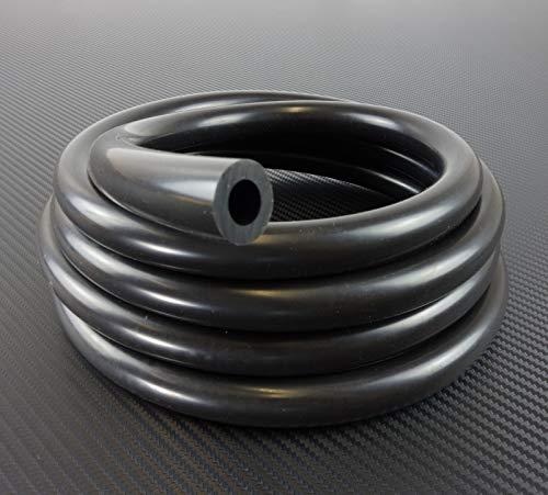 Unterdruckschlauch Silikon Meterware ID 3mm - schwarz - Vakuumschlauch Silikonschlauch