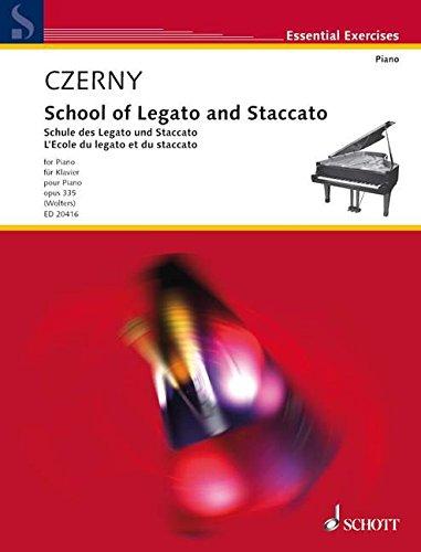 Schule des Legato und Staccato: Urtext. op. 335. Klavier. Lehrbuch. (Essential Exercises)