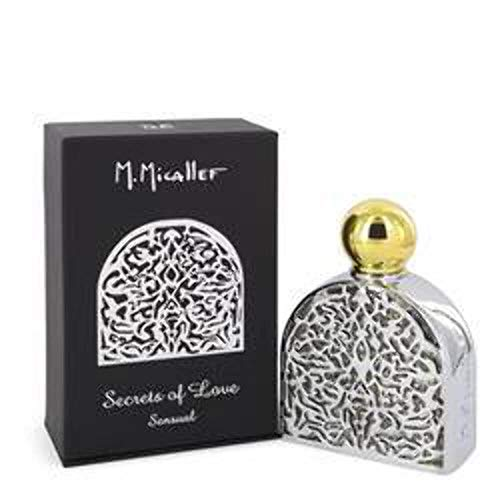 M. Micallef Secrets of Love: Sensual Eau de Parfum Unisex, 75 ml