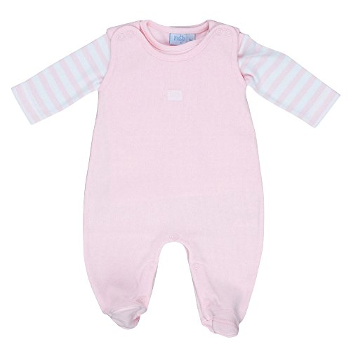 FEETJE Strampler mit Shirt Baby Baby-Set, Größe 44, rosa