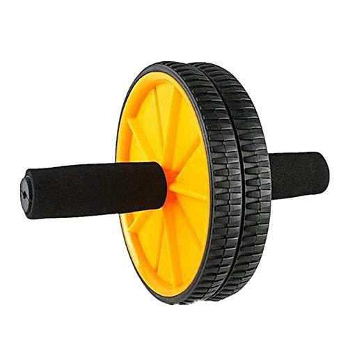 YDHWT Bauchmuskel-Laufrad - Trainingsset, Laufrad-Rollensatz mit Knieschoner, Handgreifer, verstellbares Springseil