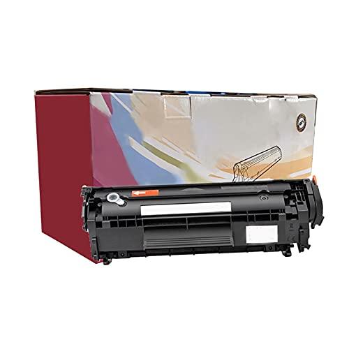 RRWW Compatible con HP Q2612A Cartucho de tóner para HP LaserJet 1010 1012 1015 1018 1020 1022 3015 3020 3030 3050 3052 3055 M1005 MFP M1319 M1319 19MFP