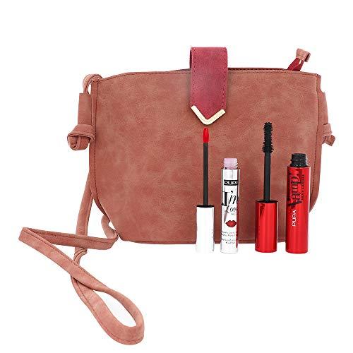 Kit Mascara Vamp! Sexy Lashes + I'm Loveproof Rossetto 010 PUPA Pochette Limited Edition Make Up Donna Set Set
