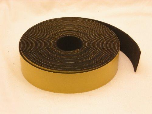 Neoprene Rubber self adhesive strip 1 1/2