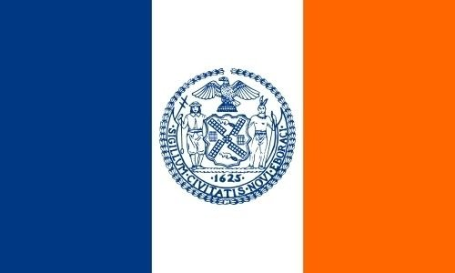 U24 Fahne Flagge New York City 90 x 150 cm