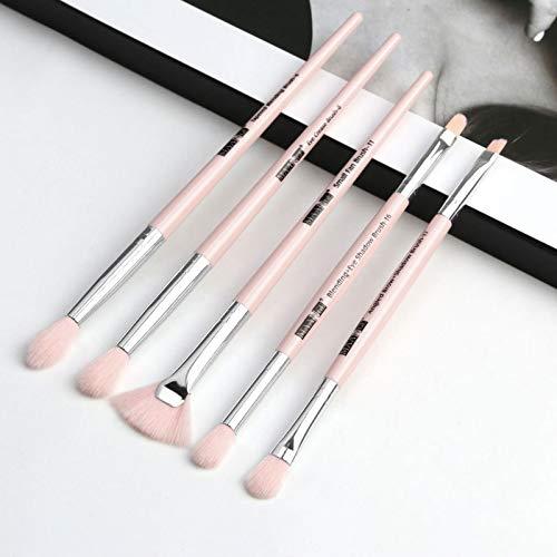 Make-up-Pinsel-Set, 5-teiliger Make Up Pinsel Für Gesicht und Augen, weicher, hochwertiger Griff,...