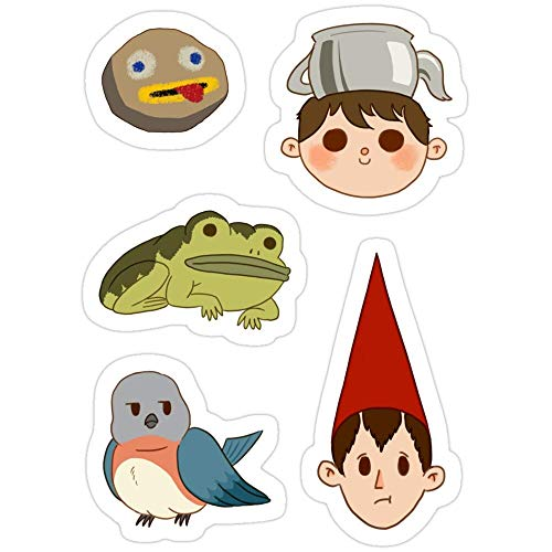 Cool Sticker For Cars, Trucks, Water Bottle, Fridge, Laptops Over The Garden Wall - Set Stickers (3 Pcs/Pack) 6988432592327