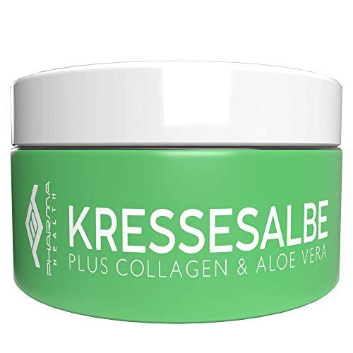 Kressesalbe | Kresse Salbe gegen Altersflecken und Pigmentflecken | 100 ml