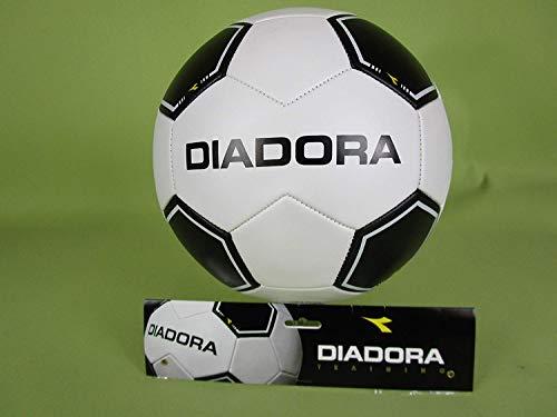 Brandloyality Fußball Training Größe 5 schwarz/weiß PU-Leder