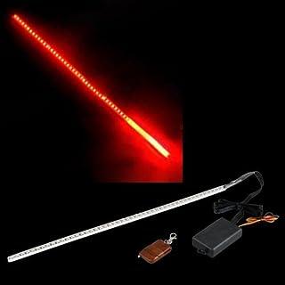 SODIAL(R) STROBE LUZ LED TIRA DE 48 X ROJO KNIGHT RIDER CAR