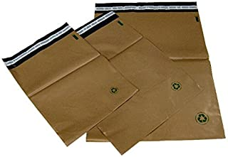 "10#8 (19"" x 24"") Unlined Biodegradable Self-Seal Poly Mailing Bags. Earth Friendly and Eco Friendly"