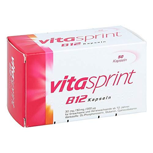 VITASPRINT B12 Kapseln 50 St Hartkapseln
