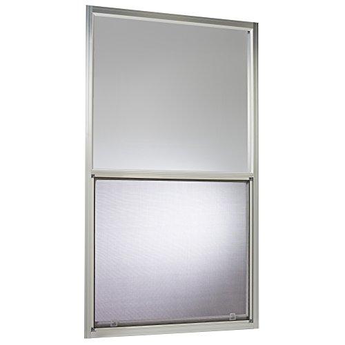 Park Ridge Products AMHMF3054PR Park Ridge Mill Finish Aluminum Mobile Home Single Hung Window, 30