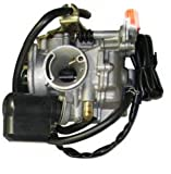 Chinese Scooter GY6 50cc Carburetor w/ Electric Choke Compatible With Jonway Tank