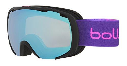 Bolle Royal Aurora, Matte Black & Purple Spray, Small