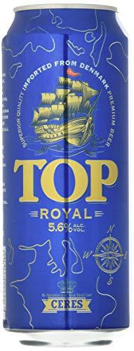 Ceres Top Royal - Birra Chiara - Pilsner Premium a Bassa Fermentazione - Cartone 24 Lattine da 50 cl