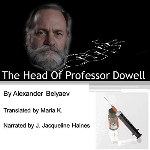 The Head of Professor Dowell audiobook cover art