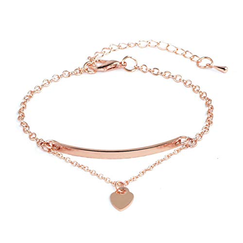 KUANGLANG Fashion Classic Women'S Bangles For Women Gold Rose Gold Silver Color Rhinestone Bracelet Cuff Simple Trendy Jewelry