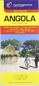 Mapa Cartographia Angola  Mapas Cartographia   French Edition