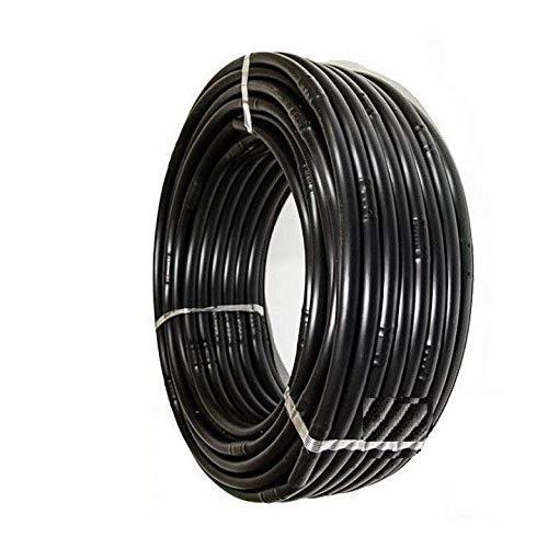 Pcriegos 02033-100 Tubería para Riego 16 mm con goteros Integrado a 33 cmts, Color Negro 100 Metros