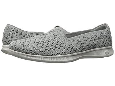 Skechers Performance Women's Go Step Lite-Petal 14723 Walking Shoe,Gray,7.5 M US