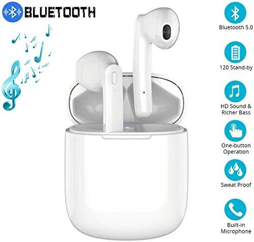 Bluetooth-Kopfhörer, HiFi-Kopfhörer In-Ear-Kopfhörer Rauschunterdrückungskopfhörer,Tragbare Sport-Bluetooth-Funkkopfhörer,Für Android/iPhone/Samsung/Huawei