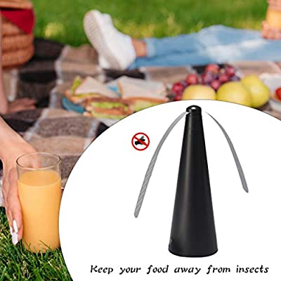 Fly Repellent Fan,Alonea for Keep Flies and Bugs Away from Your Food Without Using Chemicals | Enjoy Your Outdoor Meal Without Bug Spray or Citronella Candles?US Shipping,3-5 Days?