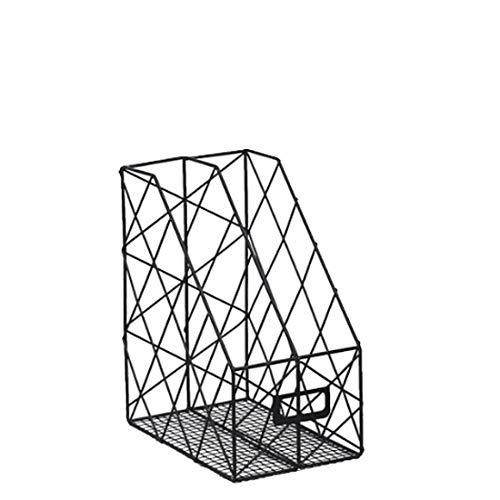 ? Opbergrooster voor smeedijzer, kantoor, dubbelzijdige uitvoering, van smeedijzer, ca. 24 cm breed x 16 cm hoog x 30 cm hoog