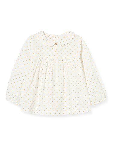 United Colors of Benetton Bluzka dla dziewczynek, Biały (Panna C), 74 cm