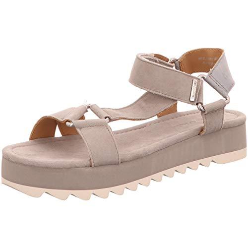 Marc O'Polo Damen Sandaletten Sandalette 903 15251101 317 grau 672858